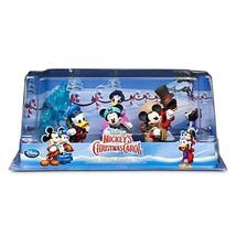 New Disney Store Mickey's Christmas Carol 6 Piece Figurine Play Set - $19.99