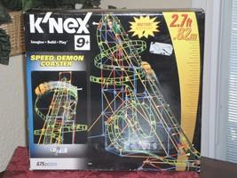 Knex Speed Demon Coaster   - $29.99