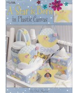 A Star Is Born, Plastic Canvas Pattern Booklet LA 1642 Mobile Tissue Box... - $5.95