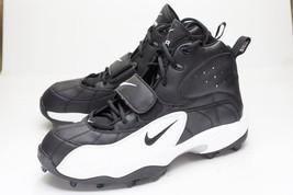 Nike Air 16 Black White Football Cleats - $38.00