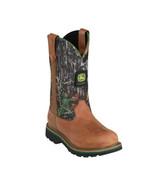 John Deere Women's Wellington Mossy Oak Camouflage Distressed Brown JD3288 - $109.99