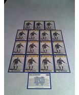 ***DICK SZYMANSKI***   Lot of 16 cards / Notre Dame / Football - $8.99