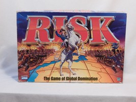 Risk Habro 1998 Strategy Parker Brothers Military World Domination Board... - $29.95
