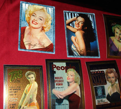 Twelve (12) Mint Marilyn Monroe Cover Girl Trading Cards - $19.95