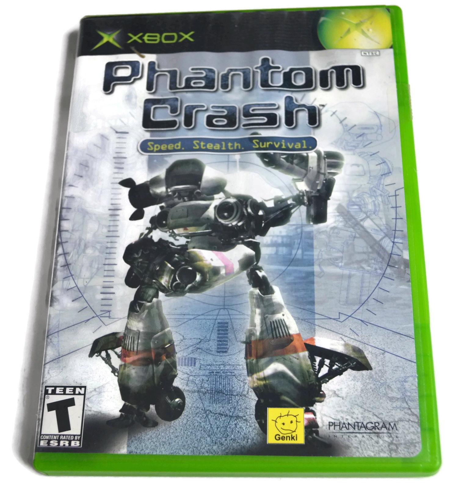 PHANTOM CRASH ~ ORIGINAL XBOX  GAME COMPLETE