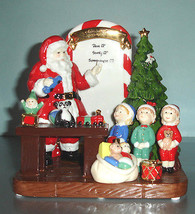 Royal Doulton Santa's Toy Testing Figurine Handmade HN5551 Ltd Edt Numbe... - $72.90