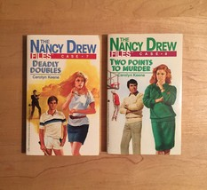 1980s Nancy Drew Files Mystery Books by Carolyn Keene image 5