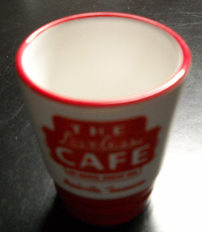 The Loveless Cafe Shot Glass Nashville Tennessee M Wear Hot Biscuits Country Ham