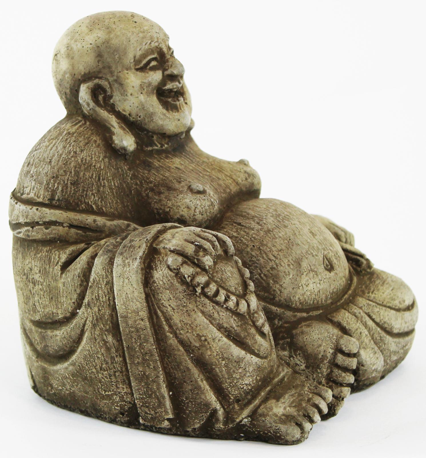 Happy Buddha Concrete Statue