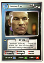 Star Trek CCG - Jean Luc Picard - $5.99