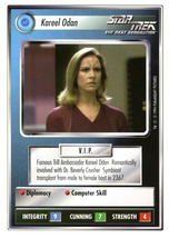 Star Trek CCG - Kareel Odan - $0.99