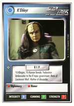 Star Trek CCG - K'Ehleyr - $0.75