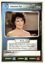 Star Trek CCG - Lwaxanna Troi - $0.75