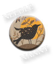 Blackbird Needle Nanny needle minder cross stitch Blackbird Designs Quil... - $12.00