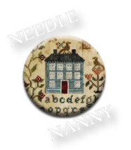 Garden Borders Needle Nanny needle minder Blackbird Designs Quilt Dots  - $12.00