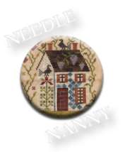 Summer Needle Nanny needle minder cross stitch Blackbird Designs Quilt D... - $12.00