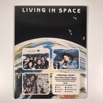 NASA Living In Space Operation Liftoff Elementary Space Program Book One... - $23.36