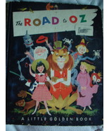 LITTLE GOLDEN BOOK ROAD TO OZ by L. FRANK BAUM  WIZARD OF 1951 A  FIRST ... - $10.99