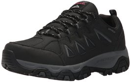 Skechers Men's Terrabite Oxford trail walking hiking Shoe Black/Charcoal... - $56.95