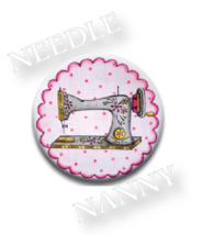 Vintage Pink Needle Nanny sewing machine needle minder cross stitch Quil... - $12.00