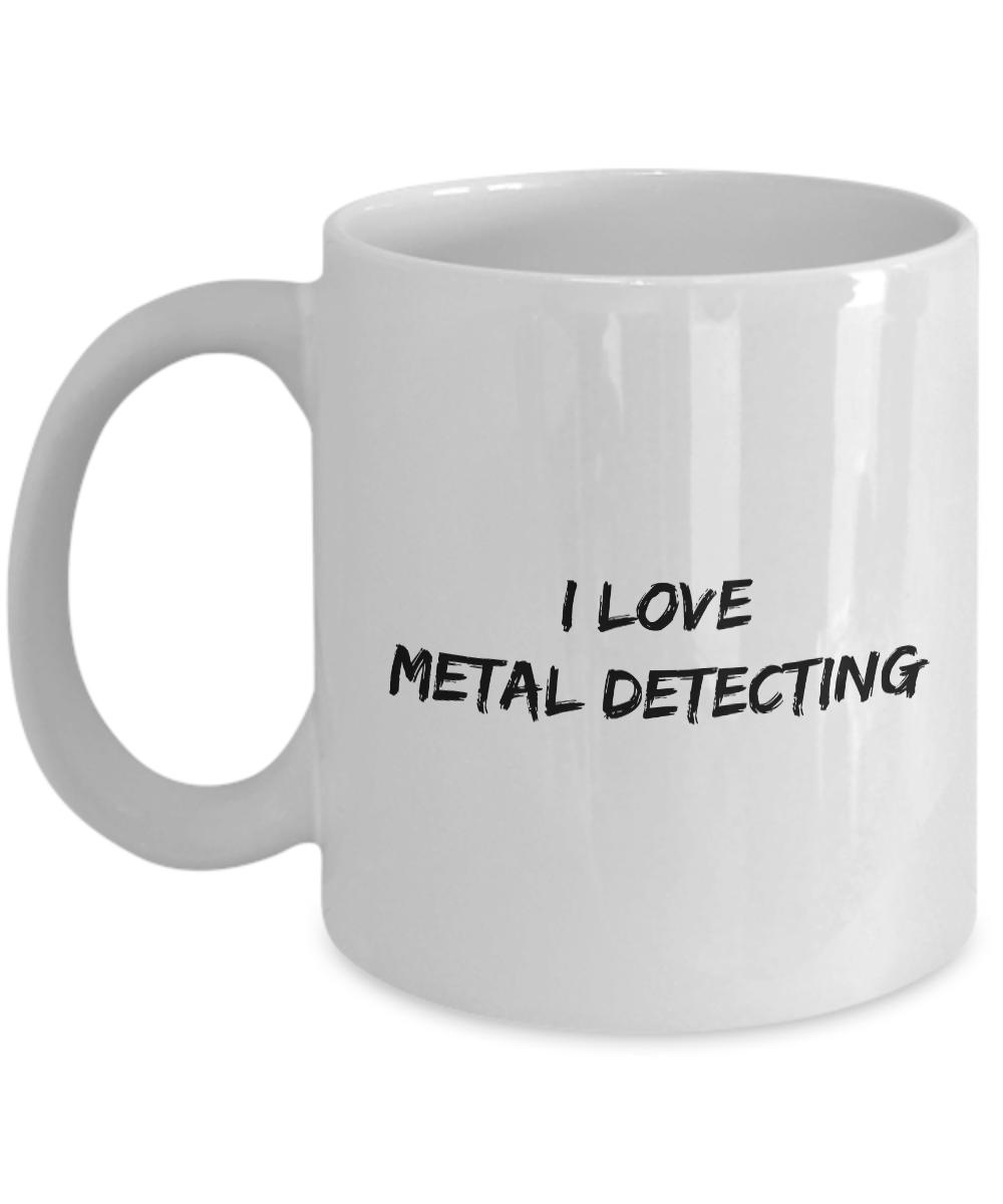 Love metal detecting