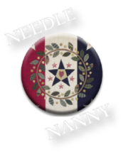 Parade Needle Nanny needle minder cross stitch accessory Quilt Dots  - $12.00