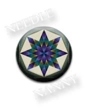 Nova Blues Needle Nanny needle minder cross sti... - $12.00