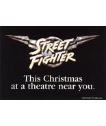 Street Fighter Movie Promotional Sticker - $15.99
