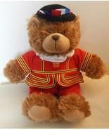 "Palace Guard Teddy Bear W H Smith 10"" Sitting - $14.00"