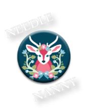 Baltimore Woods Needle Nanny needle minder cros... - $12.00