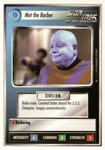 Star Trek CCG - Mot the Barber - $0.99
