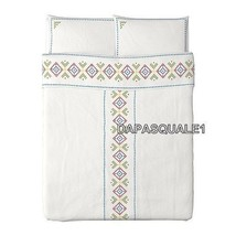 IKEA BIRGIT LANTLIG - Duvet Cover and 2 Pillowcases Queen/Full Multicolor - $56.10