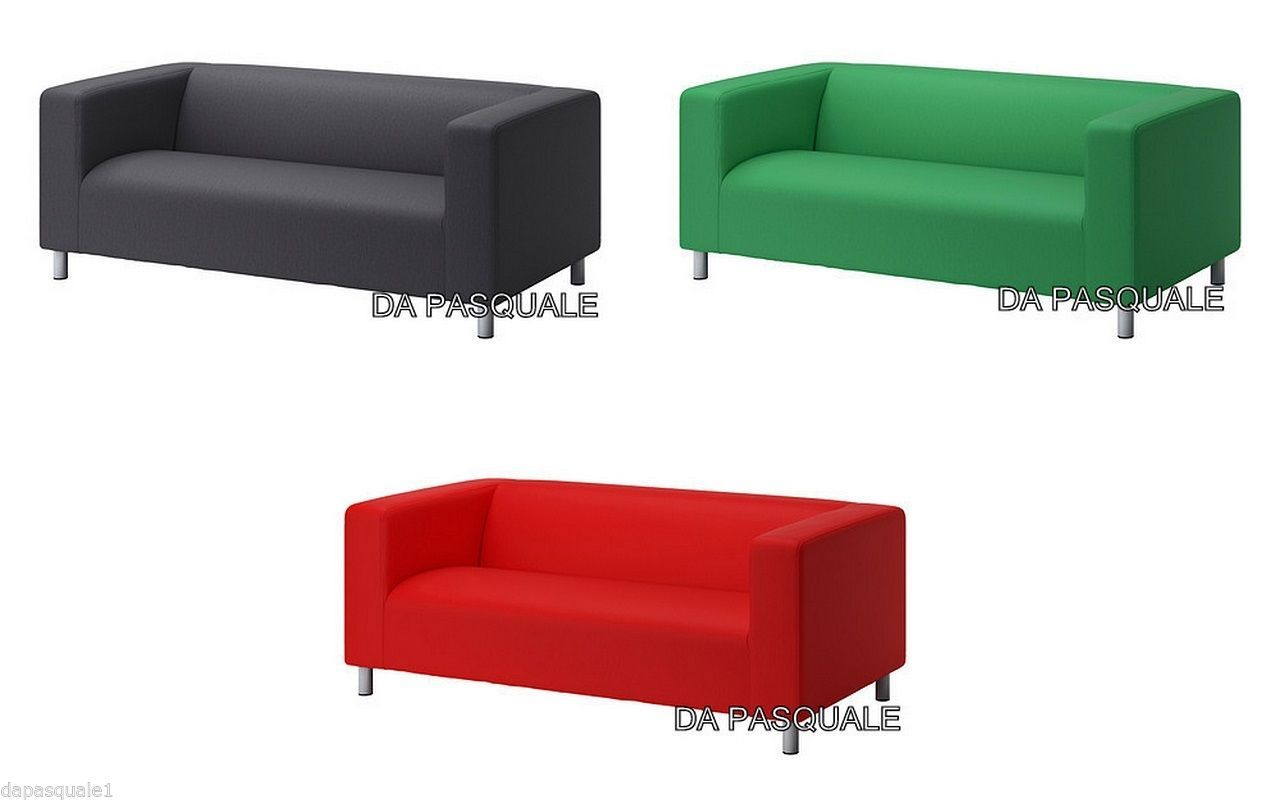 Ikea Klippan Slipcover For 2 Seat Loveseat Vissle Assorted Colors Cover Only Slipcovers