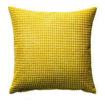 "IKEA GULLKLOCKA - Cushion Cover Chenille Fabric Yellow 20 x 20 "" - $8.40"
