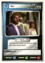 Star Trek CCG - Riva - $0.99