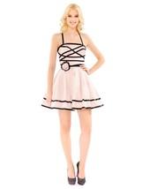 Betsey Johnson seen on iCarly Dresden Doll Rose Dress Gown Sequin Black ... - $4.845,59 MXN