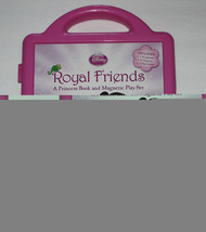Disney Pricess Royal Friends Book and Magnetic Payset  - $7.43