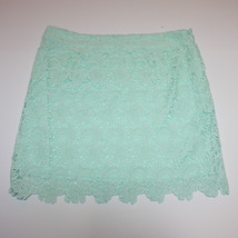 Forever 21 Mint Green Lace Mini Skirt size L NWT - $29.66