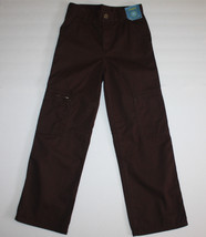 Gymboree Preppysaurus Herringbone Cargo Pants 7 Slim NWT - $12.92