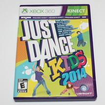 Just Dance Kids 2014 Microsoft Xbox 360 Kinect  - $15.61