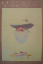 Milton Glaser Homage a Monet Poster - $280.50