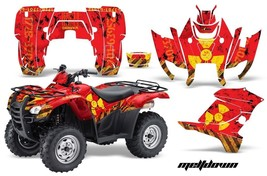 ATV Graphics Kit Decal Sticker Wrap For Honda Rancher AT 2007-2013 MELTDOWN Y R - $168.25