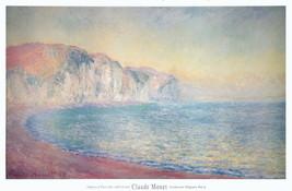 1992 Claude Monet Falaises a Pourville, Soleil Levant Poster - $140.25