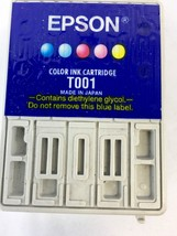 Genuine Epson 01 T001011 Original Color Ink Cartridge T001 for Stylus Ph... - $5.93
