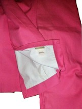 "Pottery Barn Kids 2 Bright Pink Sailcloth Blackout Drapery Panels 44"" X 84"" - $79.17"