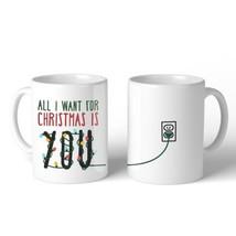 All I Want For Christmas You Lighting Mug Christmas Gift Idea - €13,18 EUR