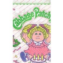 Unit Cabbage Patch Kids Vintage 1983 Paper Table Cover (1ct) - $24.58