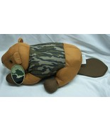 "MOSSY OAK BROWN CAMOFLAUGE CAMO BEAVER 16"" Plush STUFFED ANIMAL Toy NEW - $19.80"