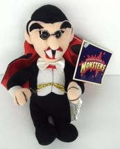 """Universal Studios Monsters Dracula Plush 7"""" With Tags - $9.28"""