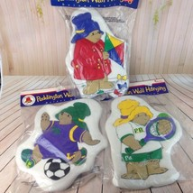 Paddington Bear Wall Hanging Vintage Plush Nurs... - $18.80